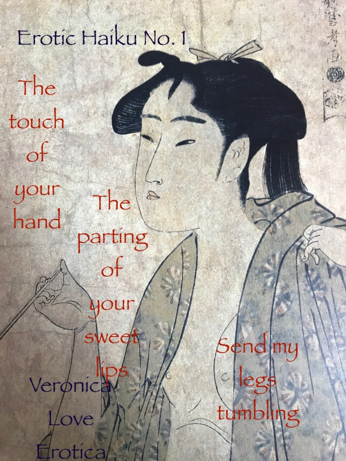 Erotic Haiku Poem No. 1 by Veronica Love