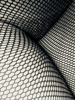 Veronica Love's pussy in fishnet stockings. What she wears when writing Erotica! Veronica Erotica!