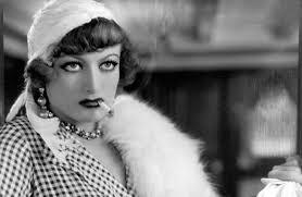 "Joan Crawford as Sadie Thompson in ""Rain."""
