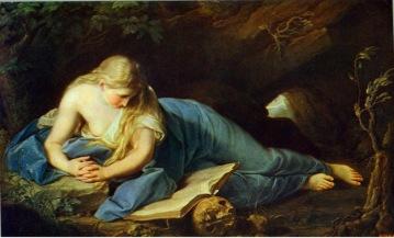 st. mary magdalene, by pompeo batoni (1708-1787)